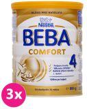 3x BEBA COMFORT 4 (800 g) - kojenecké mléko