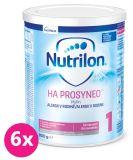 6x NUTRILON 1 HA Prosyneo (800 g) 0+ - speciální počáteční kojenecké mléko