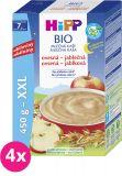 4x HiPP BIO Na dobrú noc ovsená-jablčná 450 g – mliečna kaša