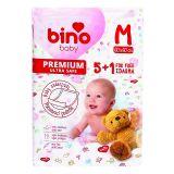 BINO BABY Podložka 5+1 zdarma Midi / M