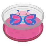 SKIP HOP Zoo talířek protiskluzový 2v1 - Motýl 6m+