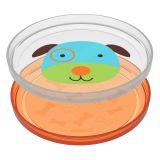 SKIP HOP Zoo talířek protiskluzový 2v1 - Pejsek 6m+