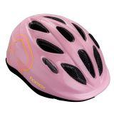 HAMAX Skydive cyklohelma 50-55 - růžová / žluté pásky