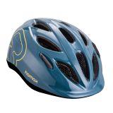 HAMAX Skydive cyklohelma 50-55 - modrá / žluté pásky
