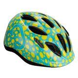 HAMAX Skydive cyklohelma 50-55 - zelenožlutá / žluté pásky