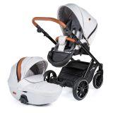 PETITE&MARS Kočárek kombinovaný Rover 2v1 Silver