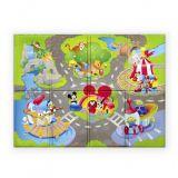 DISNEY BABY Podložka pěnová Disney Pals 120 x 89 cm (6 m+)