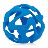 NUBY Kousátko silikonový míč tmavě modrý 3m+
