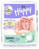 BELLA HAPPY BABY Nano (do 0,7 kg) 30 ks – jednorazové plienky