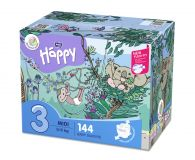 BELLA HAPPY BABY Midi (5-9kg) Box 2x72 ks – jednorazové plienky
