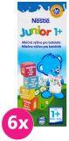 6x NESTLÉ Junior 1+ Mléčná výživa pro batolata 200 ml