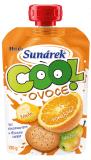 SUNÁREK Cool ovoce Pomeranč, banán, sušenka 12x120g - ovocný příkrm