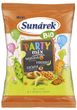 SUNÁREK Bio chrumky Party Mix 15x90g