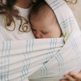 BOBA Nosič dětí / šátek Wrap Print Bamboo Riviera