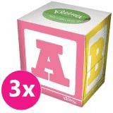 3x KLEENEX Papierové vreckovky 56 ks