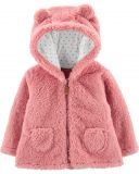 CARTER'S Kabátik s kapucňou - ružový, 18m