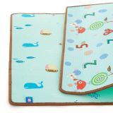 PETITE&MARS Podložka na hraní Joy 180 x 150 x 1 cm Nature
