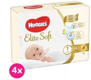 HUGGIES Elite Soft 1 (104ks) měsíční balení - jednorázové pleny