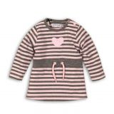 DIRKJE Šaty B-SO SOFT LOVE 86 Pink - Grey