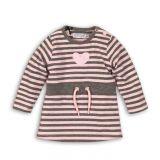 DIRKJE Šaty B-SO SOFT LOVE 98 Pink - Grey