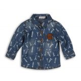DIRKJE Košeľa dlhý rukáv B-TRAVEL 80 Blue