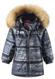 REIMA Dětská zimní bunda s membránou Sukkula - soft black 98