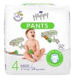 BELLA HAPPY Pants Maxi (8-14kg) 24 ks – jednorázové pleny