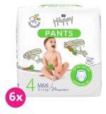 BELLA HAPPY Pants Maxi (8-14 kg) 144 ks MĚSÍČNÍ BALENÍ – jenorázové pleny