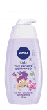 NIVEA BABY NIVEA Dětský sprchový gel GIRL 500ml