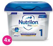4 x NUTRILON 1 Profutura počáteční kojenecké mléko 800 g, 0+