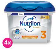 4 x NUTRILON 3 Profutura batolecí mléko 800 g, 12+