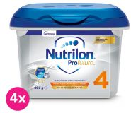 4 x NUTRILON 4 Profutura batolecí mléko 800 g, 24+