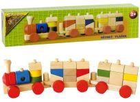 HM STUDIO Vlak malý dřevěný