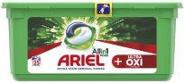 ARIEL Ultra OXI All in 1 (25 ks) – gelové prací kapsle