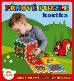 TEDDIES Pěnové puzzle Moje první lesní zvířátka 6 ks