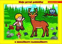 TEDDIES Puzzle deskové O Smolíčkovi Pacholíčkovi 24 dílků - Moje první pohádky