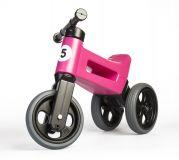TEDDIES Odrážadlo ružové Funny Wheels 2v1