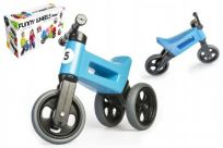 TEDDIES Jeździk niebieski Funny Wheels 2w1