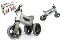 TEDDIES Jeździk szary Funny Wheels 2w1