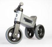 TEDDIES Odrážadlo šedé Funny Wheels 2v1