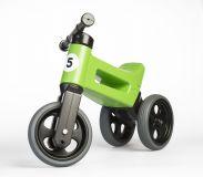 TEDDIES Odrážedlo zelené Funny Wheels 2v1