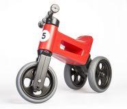 TEDDIES Odrážedlo červené Funny Wheels 2v1