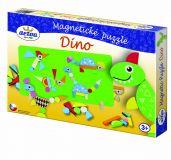 TEDDIES Magnetické puzzle Dinosaury