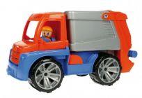 LENA Auto Truxx Śmieciarka z figurką 29 cm