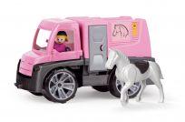 LENA Auto Truxx přeprava koní s figurkami 26 cm