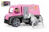 LENA Auto Truxx Transport koni figurkami 26 cm