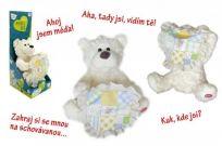 TEDDIES Medvedík Kuk so zvukom CZ design