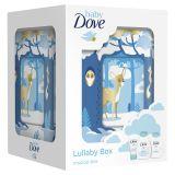 BABY DOVE Kompletní starostlivost vánoční dárková kazeta s hrací skříňkou
