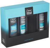 DOVE Men+ Care Clean Comfort darčeková kazeta pre mužov + fľaša na vodu