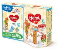 HAMI Batolecí mléko 24+ (2x 600g) + Zeleninové tyčinky Rajče a Bazalka 100 g